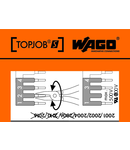 Stickers for operating instructions; for TOPJOB®S jumpers; 2001/2002/2004/2006/2010/2016 Series