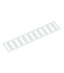 WMB marking card; as card; MARKED; 31 ... 40 (10x); Horizontal marking; snap-on type; white