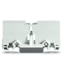Mounting carrier; for Ex applications; 773 Series - 2.5 mm² / 6 mm²; for DIN-35 rail mounting/screw mounting; light gray