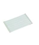 Marking strips; permanent adhesive; white