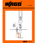 Stickers for operating instructions; for CAGE CLAMP®, universal