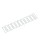 WMB marking card; as card; MARKED; R, S, T, U, V, W, X, Y, Z, Mp (10x); Horizontal marking; snap-on type; white