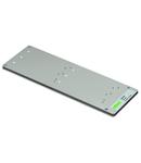 Mount; for plotter; Carrier plate for murrplastik: MP-400 - KS 4/12, 4/18, 4/23, 4/30; light gray