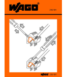 Stickers for operating instructions; for PCB terminal blocks; 736, 737 and 738 Series
