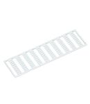 WMB marking card; as card; MARKED; U, V, W, N, PE, U, V, W, N, PE / L1, L2, L3, N, PE; stretchable 5 - 5.2 mm; Horizontal marking; snap-on type; white