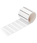Self-laminating labels; for TP printers; white