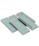 Mount; for plotter; Carrier plate for Partex: PK 2 PVC; light gray