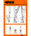 Stickers for operating instructions; for FIT CLAMP® connection, universal; 290 Series