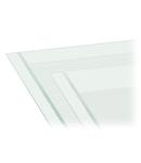 Marking strips; as a DIN A4 sheet; MARKED; 37 - 48 (40x); Strip width 6 mm; Strip length 182 mm; Horizontal marking; Self-adhesive; white