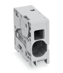 PCB terminal block; 16 mm²; Pin spacing 10 mm; 1-pole; Push-in CAGE CLAMP®; 16,00 mm²; gray