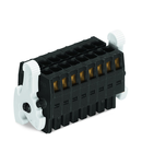 1-conductor female connector, 2-row; 100% protected against mismating; Levers; direct marking; 1.5 mm²; Pin spacing 3.5 mm; 10-pole; 1,50 mm²; black