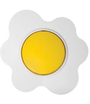 Intrerupator 16a alb-galben floare