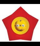Priza schuko 16A galben-rosu stea