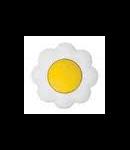 Intrerupator 16a galben-alb floare