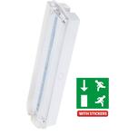 Lampa emergenta LED 2W IP65 permanenta sau Ne Permanenta autonomie 3 ore