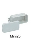 Doze de jonctiune termoplastice IP55, 400V 85x45x37 Gri