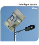 Lampa cu LED stradala Solara LED 2R ISTAR SB, 15W, 5000K, 2100Lm, 30000h, IP66, Ra> 80, AGM 55Ah, 12V / 24V 10A, 80Wp / 12V