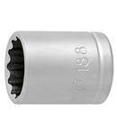 "Capete chei tubulare 1/4"", cu 12 laturi 11/32""mm, 25mm, 10.5mm, 12.9mm, 15g"
