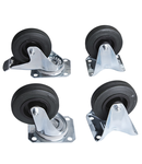 Set of casters 100mm