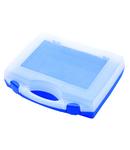 Cutie de plastic pentru capete chei tubulare , chei 197mm, 167mm, 47mm, 155g