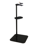 Pro repair stand with single clamp, quick release 726mm, 572mm, 1700mm