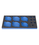 SOS tool tray for 964MOTO6 364mm, 188mm, 30mm