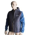 Knitted hybrid jacket for men XL, 574g