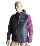 Knitted hybrid jacket for women XXL, 536g
