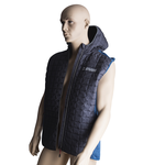 Knitted hybrid vest for men XL, 427g