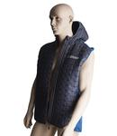 Knitted hybrid vest for men XXL, 449g