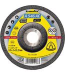Discuri de polizare Kronenflex pentru Otel inoxidabil, Otel, Metale neferoase A 546 AC ACCU - Diametru 125mm, Grosime 2mm, Alezaj 22,23mm
