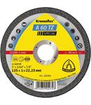 Discuri de debitare Kronenflex pentru Otel inoxidabil, Otel A 60 TZ Special - Diametru 125mm, Grosime 1mm, Alezaj 22,23mm