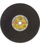 Discuri de debitare mari Kronenflex pentru Otel A 630 N Supra - Diametru 350mm, Grosime 2,5mm, Alezaj 25,4mm
