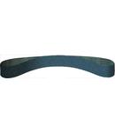 Benzi abrazive inguste pentru Otel inoxidabil, Otel, Metal universal CS 411 Y - Grosime 13mm, Lungime 610mm