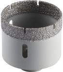 Coroana de gaurire uscata pentru Produse din piatra fina, Placi ceramice, Teracota DK 600 F Supra - Diametru 58mm, Lungime efectiva 45mm