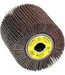 Perii lamelare pentru satinare pentru Vopsea, Lac, Spaclu, Lemn, Plastic, Metal universal SM 611 S - Diametru 100mm, Grosime 50mm, Alezaj 19mm