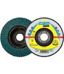 Discuri lamelare frontale pentru Otel inoxidabil, Otel SMT 324 Extra - Diametru 125mm, Alezaj 22,23mm