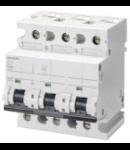 Siguranta automata tripolara 80A 10ka C Siemens