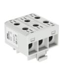 OTL35-3x grey 3x1xAl\/Cu 2,5-35mm² 1000V Clema distribuitor