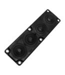 Capac Vizitare MC4 IP65 RAL 9005 negru Multigate UL94 V-0