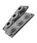 Capac Vizitare MC3 IP65 RAL 9005 negru Multigate UL 94V-0