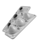 Capac Vizitare MC3\/7 IP67 RAL 7035 gri Multigate UL94V-0