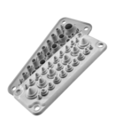 Capac Vizitare MC25\/27 IP67 RAL 9005 negru Multigate UL94V-0