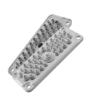 Capac Vizitare MC35\/37 IP67 RAL 9005 negru Multigate UL94V-0