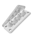 Capac Vizitare MB4\/10 IP55 RAL 9010 alb Multigate UL94V-0