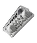 Capac Vizitare LMC14 IP54 RAL7035 gri Multigate UL94V-0