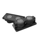 Capac Vizitare SCG2 IP55 RAL 9005 negru Splitting multigate UL94V-0