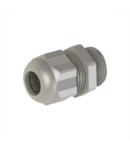 Presetupa, M12, 3-6,5mm, PA6, light grey RAL7035, IP68