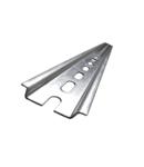 Sina tablou electric TS35P 35x7,5 perforata6,3x18 DIN rail 300mm