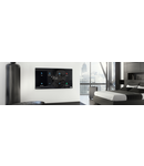 Cronotermostat + modul 6 comenzi personalizabile - culoare Alb Sticla